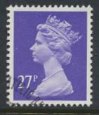 Great Britain SG X974 Sc# MH134    Used with first day cancel - Machin 27p