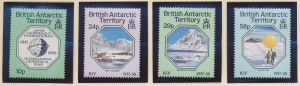 British Antarctic Territory (B.A.T.) Stamps Scott #141 To 144, Used - Free U....