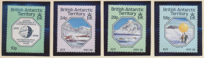 British Antarctic Territory (B.A.T.) Stamps Scott #141 To 144, Used - Free U....