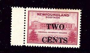 Newfoundland 268 MNH 1946 surcharge