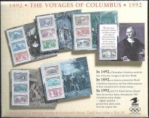 2624-2629 Mint,OG,NH... Set of Souvenir Sheets... SCV $30.50