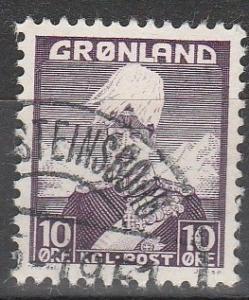 Greenland #4  F-VF Used    (S4491)