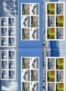 Greenland #623a, 642a, 714a (GR481) Comp Bklts, MNH, VF, CV$133.00