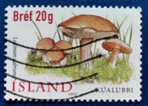 Iceland Mushrooms Scott # 957 Used (I1062)