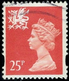 Great Britain, Regional, Wales; 1993: Sc. # WMMH60: O/Used Single Stamp