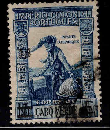 Cabo or Cape Verde Scott 275 Used stamp