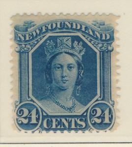 Newfoundland (Canada) Stamp Scott #31, Mint Heavily Hinged - Free U.S. Shippi...