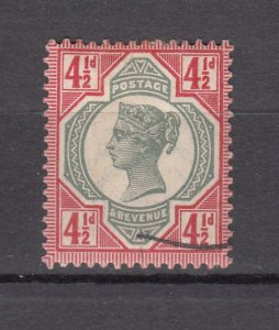 J27531 1887-92 great britain used #117 queen $45.00 scv