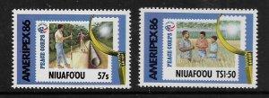 NIUAFO'OU, 74-75 MNH, PEACE CORPS