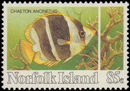 1984 Norfolk Islands #339-342, Complete Set(4), Never Hinged