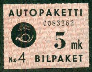 FINLAND #Q2, Mint Hinged, Scott $20.00