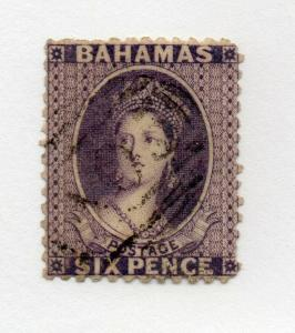 Bahamas - SG# 30 Used / wmk crown CC/ Inverted   /   Lot 419_0716307