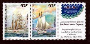 French Polynesia 706a Mint NH MNH  PACIFIC 97!