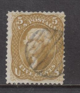 USA #67 Used Fine With Light Cancel
