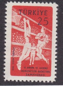 Turkey # 1441, Basketball Championships, NH, 1/2 Cat.