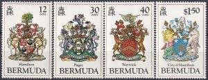 Bermuda #474-7 MNH   CV $9.25 (Z4724)