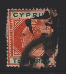 Cyprus Sc#49 Used