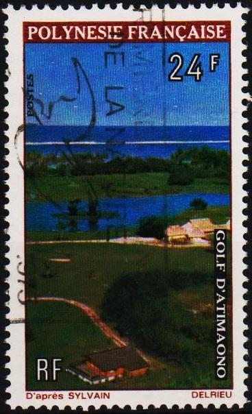 French Polynesia.1974 24f  S.G.178 Fine Used