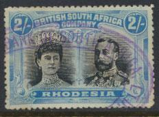 British South Africa Company / Rhodesia  SG 153 spacefiller  see details and ...