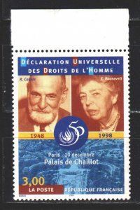 France. 1998. 3352 from the series. 50 years of the UN. MNH.