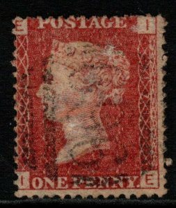 GB USED ABROAD IN CYPRUS SGZ36 pl.171 1878 1d ROSE-RED 969 CANCEL USED