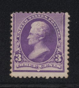 US Stamp Scott #221 Mint Previously Hinged SCV $55