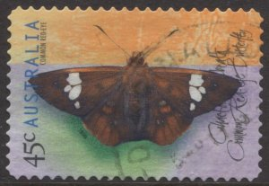 STAMP STATION PERTH Australia #1699 Butterflies Used
