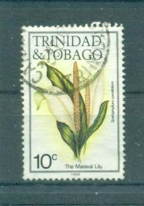 Trinidad & Tobago sc# 393 used cat value $.25
