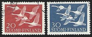 Finland #344-345 Used Full Set of 2