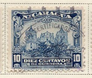 Nicaragua 1928 Early Issue Fine Used 10c. 323668
