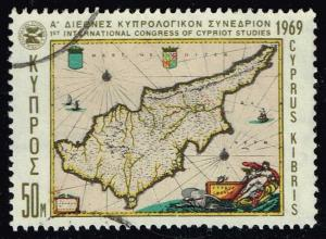 Cyprus #325 Int. Congress of Cypriot Studies; Used (0.30)