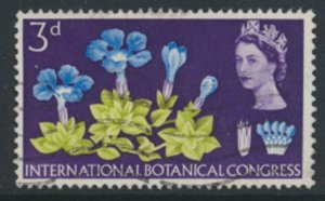 Great Britain  SG 655  SC# 414  Botanical Congress Used see detail and scan