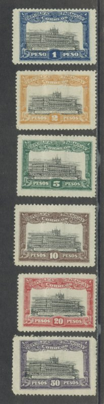 Paraguay unknown issue.  MHR thin see descr. Cgs