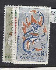 LAOS  (PP2304B)  SC C39-42   MNH