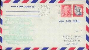 United States, Texas, First Flight, Panama