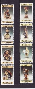 Nevis-Sc#839-46- id2-Unused NH set-Hummel Figurines-1994-