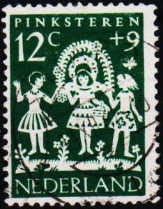 Netherlands. 1961 12c+9c S.G.917 Fine Used