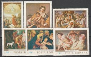 Romania #1994-6, 1999, 2002, 2004 MNH CV $4.60 (S7753L)