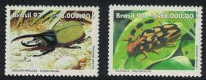 Brazil Beetles 2v SG#2576-2577