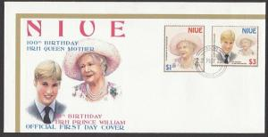 NIUE 2000 100th Birthday Queen Mother FDC..................................27817
