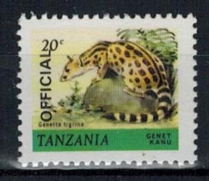 Tanzania - Scott O28 MNH