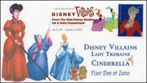 17-168, 2017, Disney Villains, Lady Tremaine, Cinderella, DCP, FDC
