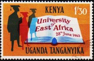 K.U.T. 1963 1s30 S.G.204 Fine Used