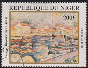 Niger 576 USED 1982 George Braque, Artist