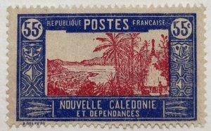 AlexStamps NEW CALEDONIA #149 XF Mint