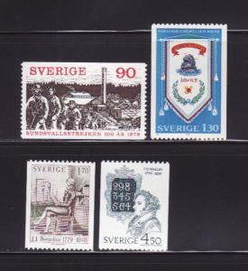 Sweden 1291-1294 Set MNH Various (A)
