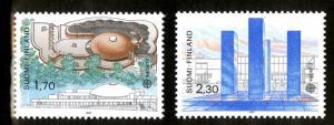 FINLAND  756-7 MNH SCV $10.50 BIN $6.00 EUROPA