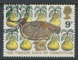 Great Britain  SG 1049 SC# 826 Used / FU with First Day Cancel - Christmas 1977