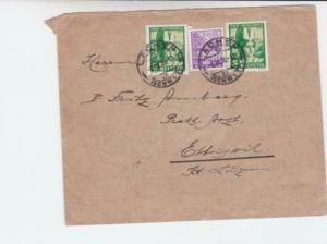 Switzerland 1935 Lachen to  Ettiswil cancel stamps cover R 20005