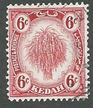 Malaya-Kedah  Scott 31  Used
